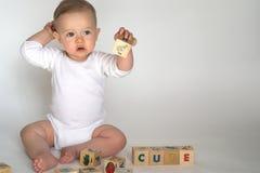 Baby Blocks Royalty Free Stock Photo