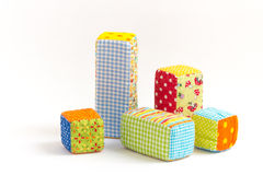 Baby blocks toy Royalty Free Stock Photography