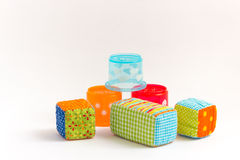 Baby blocks toy Royalty Free Stock Image