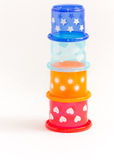 Baby blocks toy Stock Images
