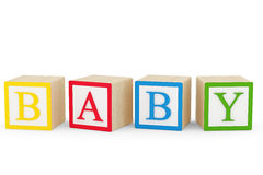 Baby Blocks Royalty Free Stock Images