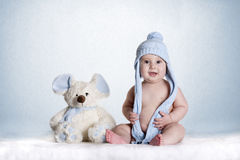 Baby blue Stock Images