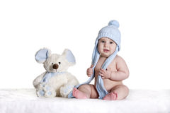 Baby blue Stock Photography