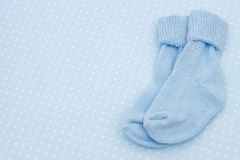 Baby Blue Background Stock Image