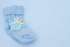Baby Blue Background Stock Photo