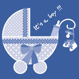 Baby blue born Stock Image