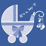 Baby blue born Stock Image