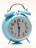 Baby Blue old clock Royalty Free Stock Images