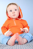 Baby body Royalty Free Stock Photo