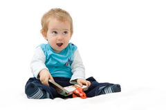 Baby book Royalty Free Stock Photography