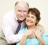 Baby Boomers In Love Stock Image