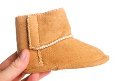 Baby boot Royalty Free Stock Photo