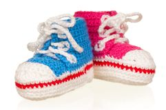 Baby booties Stock Photography