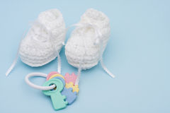 Baby Booties Stock Photos
