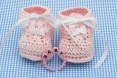 Baby Booties stock photos