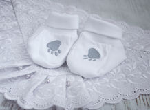 Baby Booties Royalty Free Stock Images