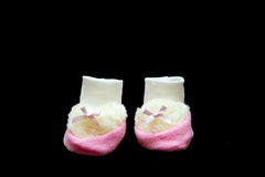 Baby booties Stock Image
