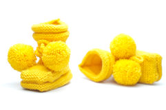 Baby boots Stock Photos