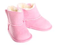 Baby boots Stock Photography