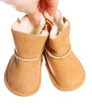 Baby boots Royalty Free Stock Photo