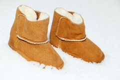 Free Baby Boots Stock Photography - 27696592