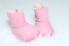 Free Baby Boots Stock Photography - 27696602