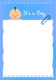 Baby Border Royalty Free Stock Images