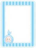 Baby border / frame Stock Photo