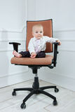 Baby boss Royalty Free Stock Photos