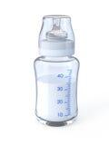 Baby bottle. Isolated on white royalty free illustration