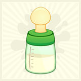 Baby Bottle Stock Image
