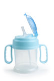 Baby bottle Stock Photography