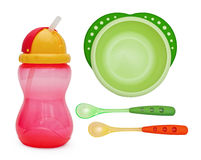 Baby plate Royalty Free Stock Image