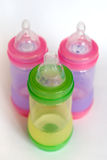 Baby bottles Stock Photos