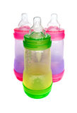 Baby bottles Royalty Free Stock Photography