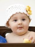 Baby in Box Stock Photo