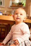 Baby on box presents Royalty Free Stock Photos