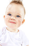 Baby boy. Portrait of cute baby boy stock photo