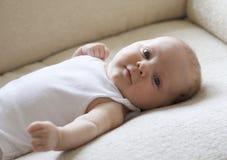 Baby boy. Cute baby boy looking at camera stock photography