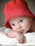Baby boy. Close up of cute baby boy Stock Photography