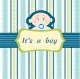 Baby boy royalty free illustration