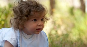 Baby boy . Royalty Free Stock Images