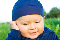 Baby boy Royalty Free Stock Photo