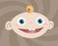 Baby Boy. Illustration of smiling Baby Boy Royalty Free Stock Image