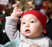 Baby boy. A cute baby boy portrait Royalty Free Stock Photos