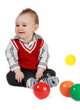 Baby boy (8 months) Stock Images