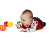 Baby boy (8 months) Stock Image