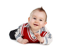 Baby boy (8 months) Stock Photos
