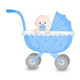 Baby Boy royalty free illustration