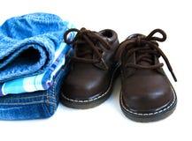 Baby  boy apparel Stock Photography